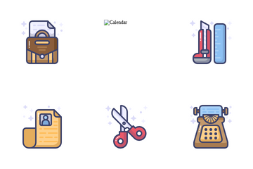 Office Equipment Icon Pack