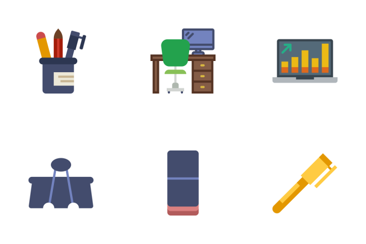 Office - Flat Icon Pack