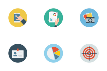 Office Flat Icons Icon Pack