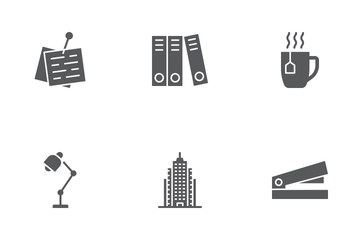 Office Glyph Icons Icon Pack