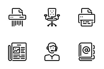 Office Life Icon Pack