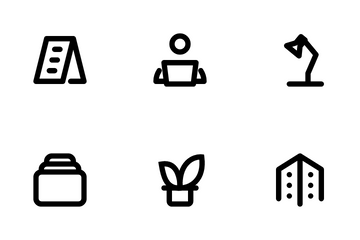 Office Work & Life Icon Pack