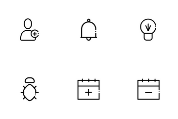 Office Line Icons Icon Pack