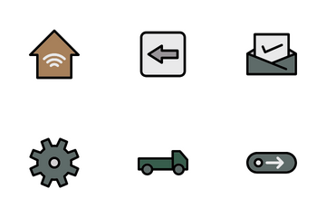 Office Materials Icon Pack