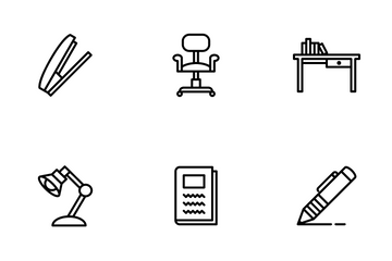 Office School Icon Pack