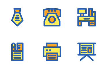 Office Set Icon Pack