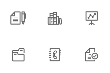 Office & Stationary Icon Pack