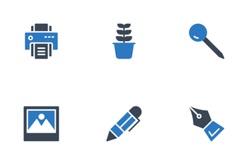 Office Stationery Icon Pack
