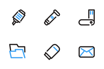 Office Supplies Icon Pack
