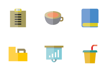 Office Supply 1 Icon Pack