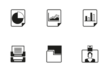 Office Supply Icon Pack