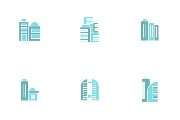 Office Tower Icon Pack