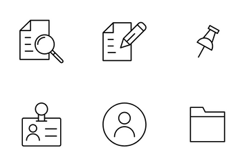 Office Work Icon Pack