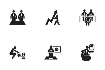 Office Worker Icon Pack