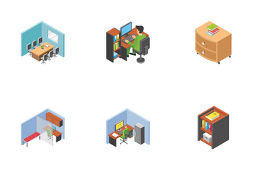 Office Workplace Icon Pack