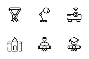 Offline School Icon Pack