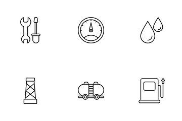 Oil Icon Pack