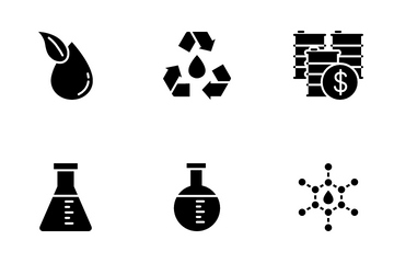 Oil And Petroleum Industry Icon Pack