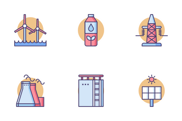 Oil Gas Icon Pack