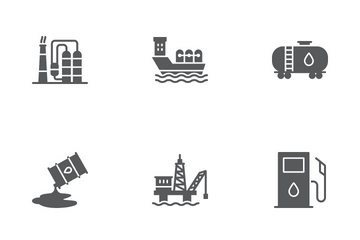 Oil Industry Icon Pack
