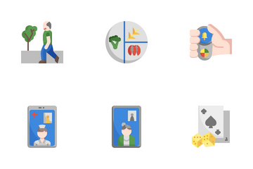 Older People Icon Pack