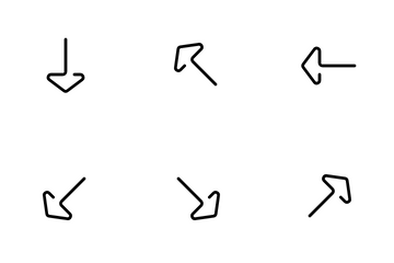 One Line Navigation Icon Pack