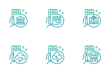 Online Activities Icon Pack