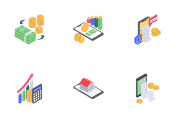 Online Banking Icon Pack