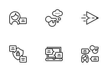 Online Chat Icon Pack