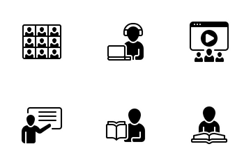 Online Class Icon Pack