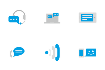 Online Dialogues  Icon Pack