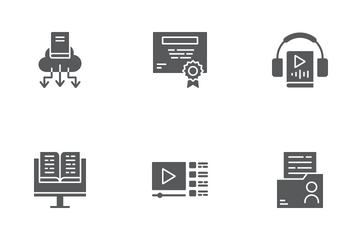 Online Education Icon Pack