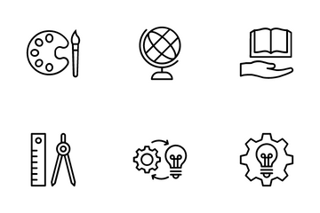 Online Learning 1 Icon Pack