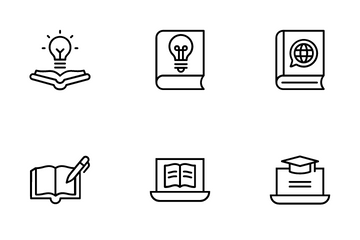 Online Learning 2 Icon Pack