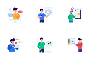 Online Marketing And Advertising Icon Pack