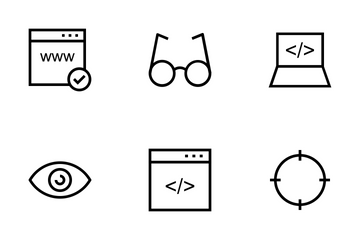 Online Marketing Icons Icon Pack