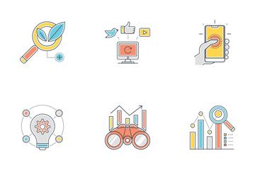 Online Marketing Vol - 1 Icon Pack
