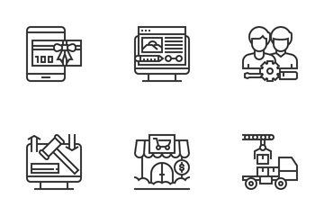 Online Marketplace Icon Pack