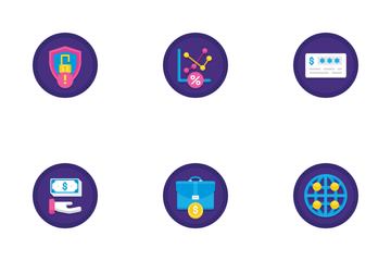 Online Money Service Icon Pack