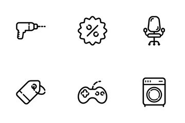 Online Shop Icon Pack
