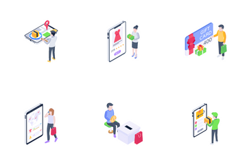 Online Shopping And E-Commerce Icon Pack
