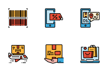 Online Shopping & Retail Icon Pack