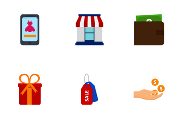 Online Shopping Vol 1 Icon Pack