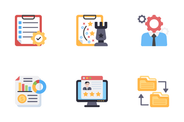 Operation Management Icon Pack