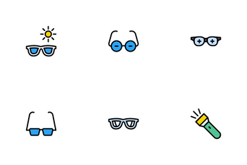 Ophthalmology Icon Pack