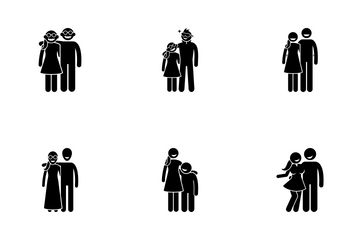 Opposite Couple Icon Pack