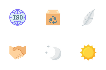 Organic Cosmetic Icon Pack