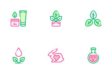 Organic Cosmetics Icon Pack