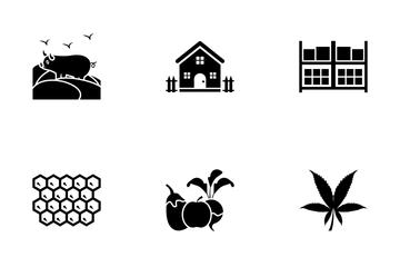 Organic Farming Icon Pack