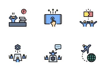 Organization Management Icon Pack